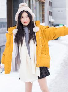 IMiss爱蜜社女神许诺Sabrina清纯美女高清图片