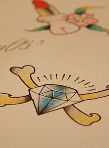 高质量最新纹身刺青手稿 高清纹身图案