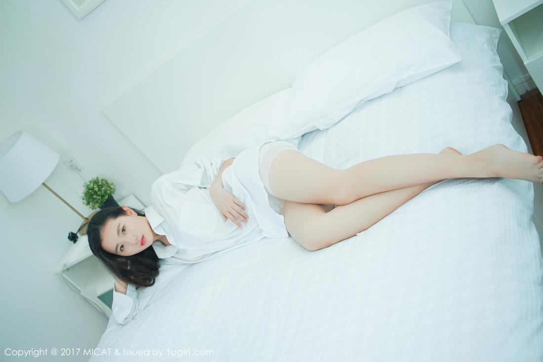 猫萌榜画画sugar甜美可爱清纯美女白衬衫约拍写真