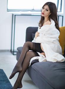 爱蜜社御姐若彤boom性感翘臀诱惑丝袜美腿写真套图