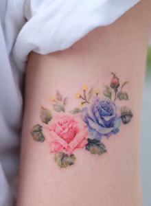 小清新女生手臂小纹身设计图片大全
