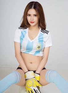 性感足球宝贝若彤BOOM美女模特前凸后翘写真套图