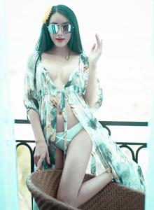 模范学院婕西儿Jessie性感美女翘臀大长腿女神写真图片