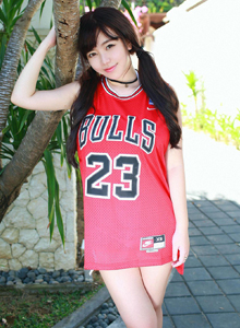 斗鱼美女主播丰满巨乳刘飞儿Faye篮球宝贝系列写真套图