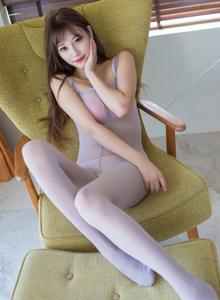 爱蜜社丝袜美女杨晨晨极品模特私房大尺度丝袜诱惑写真套图