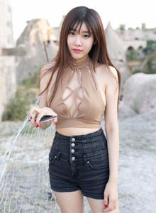 魅妍社童颜巨乳小熊猫Panda程小烦性感美女高清写真图片