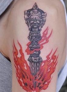 分享创意十足的几个漂亮纹身小图案
