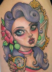 可爱卡通纹身图案 可爱彩色纹身卡通纹身图片