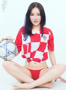 头条女神高挑女神Miki米雪儿世界杯性感足球宝贝美女图片
