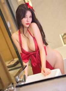 XiuRen秀人网杨晨晨修长美腿性感美女大尺度翘臀私房照