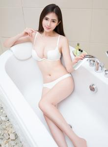 魅妍社性感美女模特SISY思比基尼室内浴室湿身诱惑美女图片