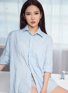 爱尤物安琪性感美女模特衬衫美女私房高清美女图片