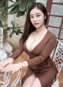 魅妍社气质美女雪千紫性感模特巨乳诱惑少妇熟女写真图片