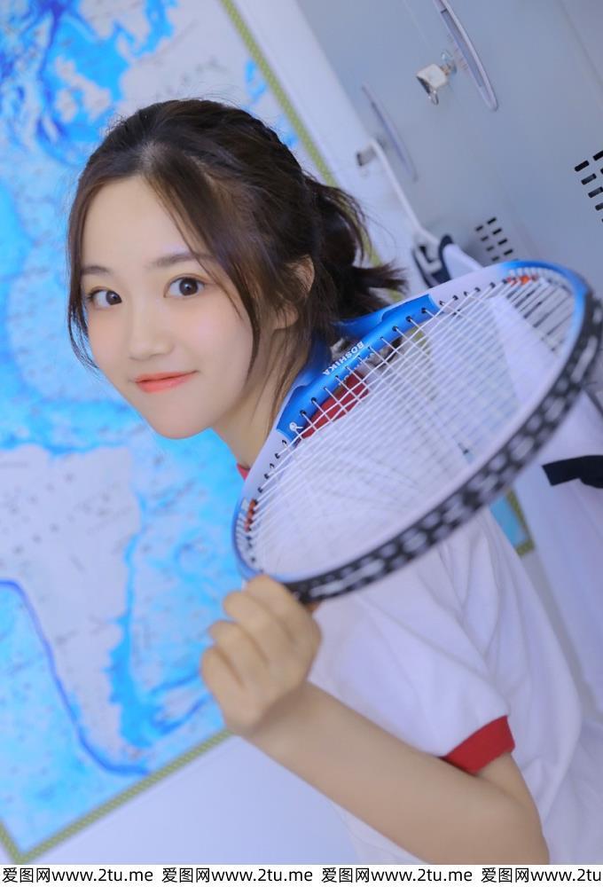 活力青春养眼清纯美少女体操服运动系MM写真图片