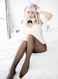 [美媛馆]北京妹子童丹娜Cosplay春日野穹黑丝美腿大尺度福利