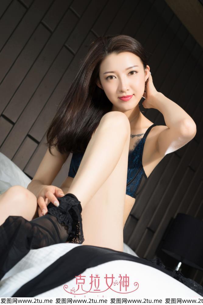 赵雨静内衣美女黑丝袜诱惑[克拉女神]美女大长腿私房写真集