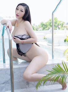 大胸美女妲己_Toxic泳装比基尼白嫩诱人[秀人网] No.1435 写真集