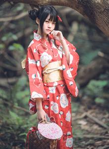 萌妹子COSER桜桃喵夏日祭可爱和服美女萝莉Cosplay写真集