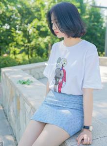 [丝意SIEE]悠悠小清新女神性感美腿肉色丝袜诱惑写真集