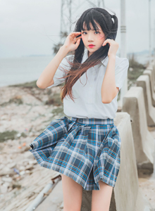 桜桃喵双马尾二次元JK制服美少女长筒袜黑丝Cosplay写真集