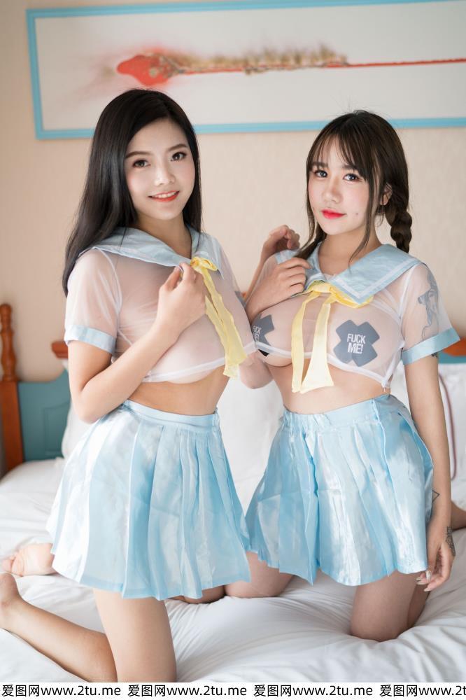 魅妍社林美惠子性感姐妹花迷人身姿最新一期魅惑模特合集写真集