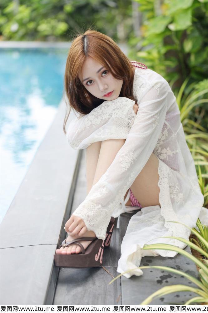 [MyGirl美媛馆]Toro羽住性感比基尼美女温柔可儿女仆写真图片