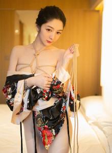 [XIUREN秀人网]性感美女@Angela喜欢猫|小热巴和服美女诱惑No.1444