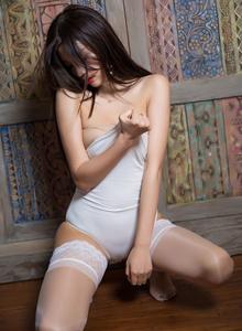 性感白丝美女蕾丝内衣诱惑 - [XIAOYU语画界]杨晨晨无圣光私房照