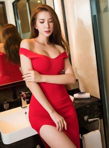 性感高挑美女火辣身材美腿诱人 - [XIAOYU语画界]陈良玲大长腿美女图片