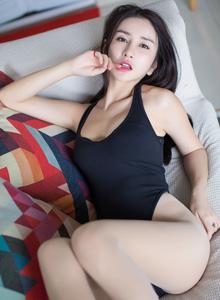 [IMISS爱蜜社]李七喜性感死库水美女大尺度翘臀诱惑私房写真照