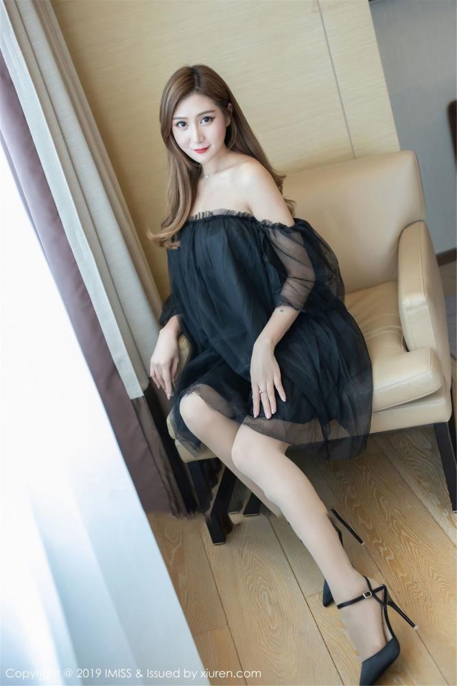 ceci - [IMiss爱蜜社]Vol.369新人模特性感丝袜美腿大尺度首套写真