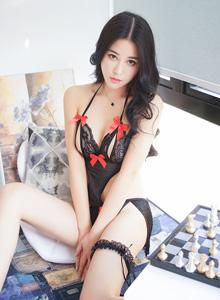 叶佳颐性感情趣内衣美女写真 - [XiuRen秀人网]No.610美女套图