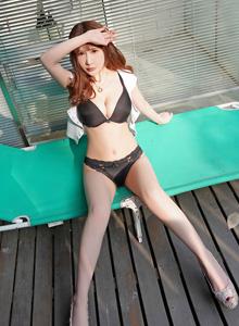 苏可可性感美女写真 [FEILIN嗲囡囡] VOL.199模特比基尼美女美腿诱惑