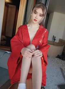 Cheryl青树&萌琪琪 - 和服美女姐妹花清纯诱人户外写真美女图