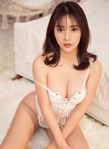 尤果模特小喜 - 私房蕾丝美女翘臀美腿诱惑性感美女写真集
